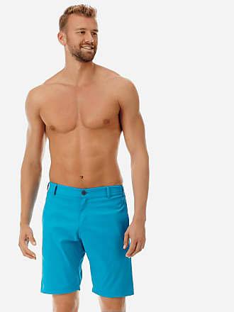 Vilebrequin Men Ready to Wear - Men swimwear fabric straight Bermuda Shorts Solid - BERMUDA - BARATIN - Blue - XXL - Vilebrequin