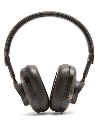 Master & Dynamic Mw60 Leather On Ear Wireless Headphones - Mens - Black Green