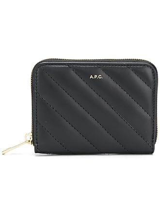 A.P.C. Lison compact purse - Black
