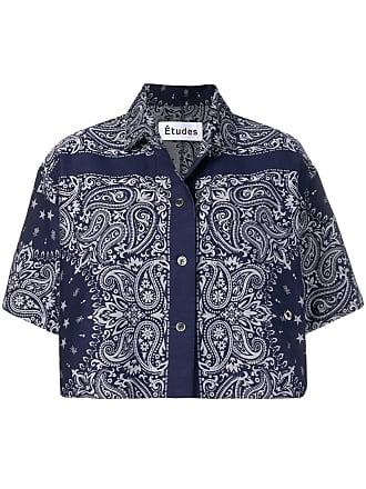 Études Studio Lake Bandana jacket - Blue