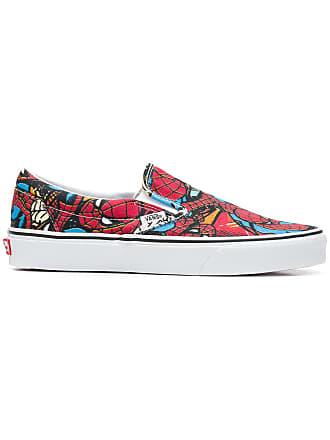 Vans Spider Man slip-on sneakers - Red