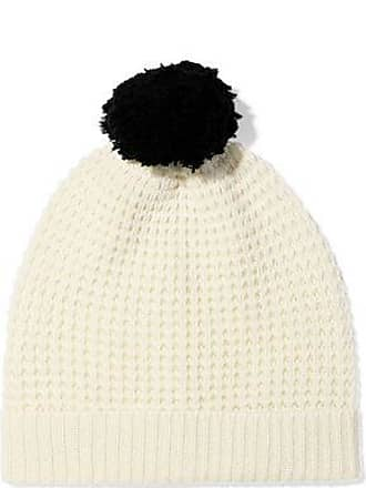 90cde83b7e2c17 Madeleine Thompson Madeleine Thompson Woman Monica Pompom-embellished  Waffle-knit Wool And Cashmere-