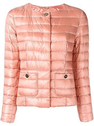 Herno padded round neck jacket - Neutrals