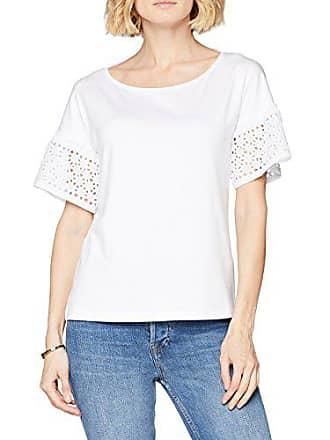 7d801e8ca01c29 Cartoon Damen T-Shirt 8545 7661 Weiß (Bright White 1000) 40