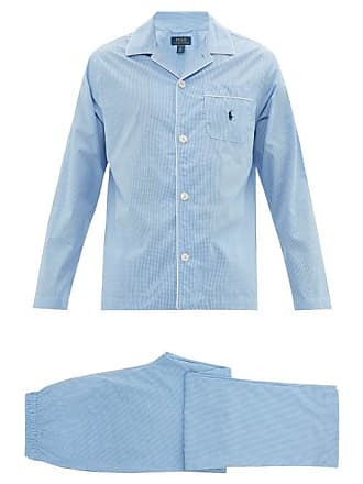 34a92ba5d17dd1 Polo Ralph Lauren Pyjama en coton à motif vichy et logo brodé