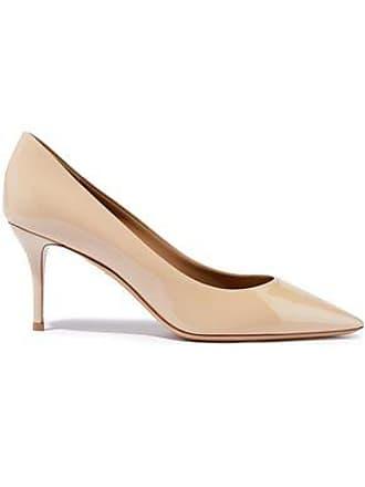 Salvatore Ferragamo Salvatore Ferragamo Woman Patent-leather Pumps Beige Size 10.5