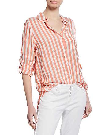 Velvet Heart Elisa Striped Shirttail Shirt