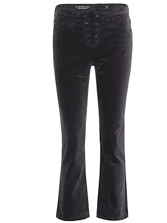 AG - Adriano Goldschmied The Cody Crop Lace-Up trousers