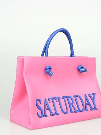 8398810dc1d Alberta Ferretti Leather SATURDAY Shopping Bag size Unica