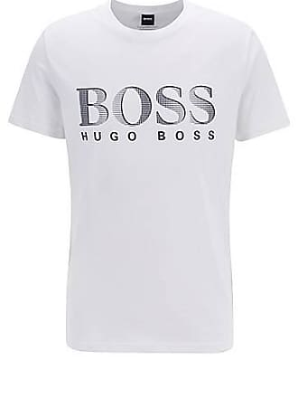 fdf3ba9e5 BOSS Relaxed-fit UPF 50+ T-shirt in responsibly sourced cotton