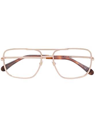 Givenchy Armação para óculos aviador - Metálico