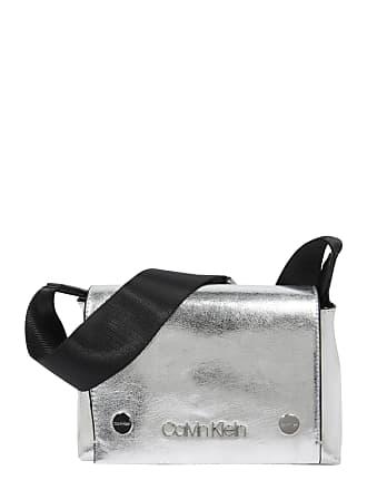4c54b572ee0 Calvin Klein Schoudertas SNAP SML FLAP CROSSBODY MET zilver