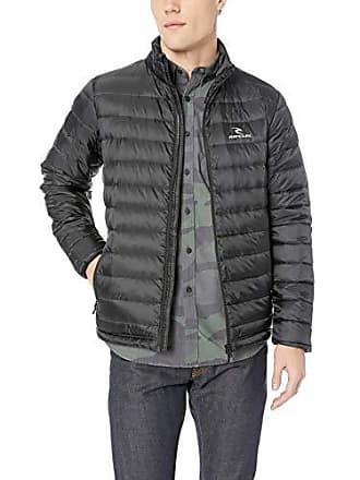 Rip Curl Mens Fall Anti Series Jacket, Black, XL
