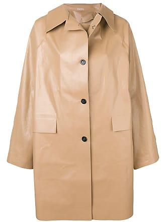 Kassl Editions Trench coat oversized - Preto