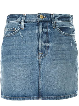 Frame Denim Le Mini denim skirt - Azul