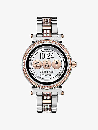 Michael Kors Sofie Pave Two-Tone Smartwatch