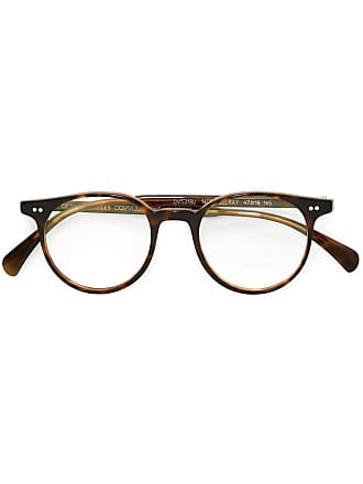 Oliver Peoples Óculos modelo Delray - Marrom