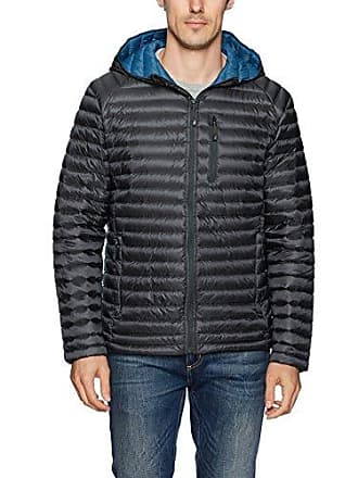Nautica Mens Ultra Light Quilted Down Jacket, Carbon, S