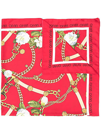 Liu Jo Foulard con stampa - Di Colore Rosso d0afb440b1e