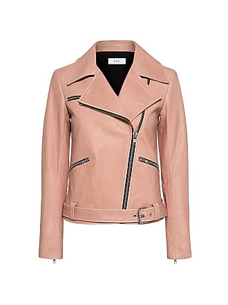 A.L.C. Duvall Leather Jacket Pink