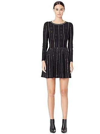 a372a9e6352f The Kooples Fully Studded Knit Dress (Black) Womens Dress