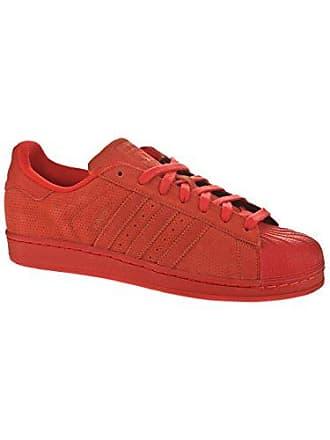 61c5a6d8a19f29 adidas Superstar Mono Pack Herren Sneaker Rot