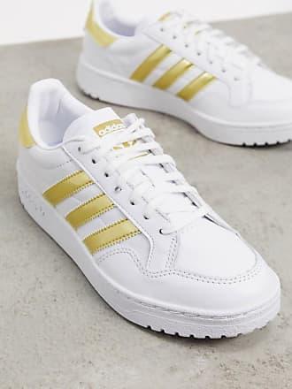adidas Originals Team Court sneakers in white