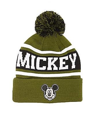 Forever 21 Forever 21 Mickey Mouse Beanie Olive/multi