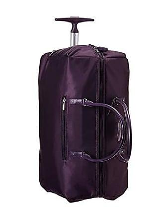 Lipault Paris Lady Plume Wheeled Weekend Bag 2.0 (Purple) Bags
