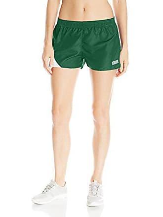 Soffe Womens JRS Stride Short, Dark Green, Medium