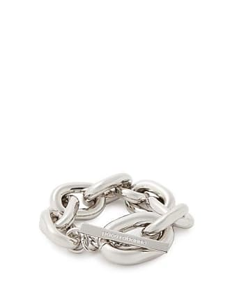 Paco Rabanne Oversized Chain Link Bracelet - Womens - Silver