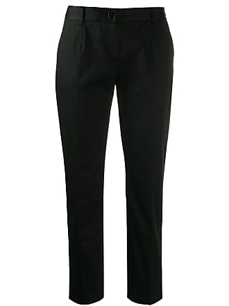 Dolce & Gabbana cropped tailored trousers - Preto