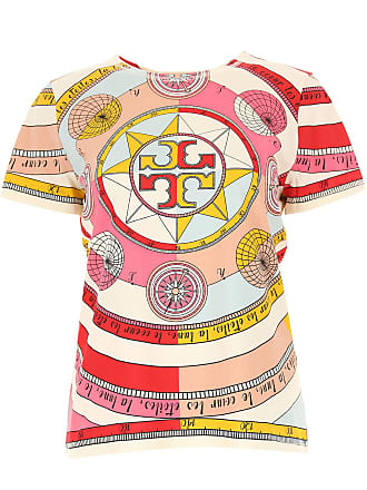 Tory Burch T-Shirt for Women On Sale, Multicolor, Cotton, 2017, 2