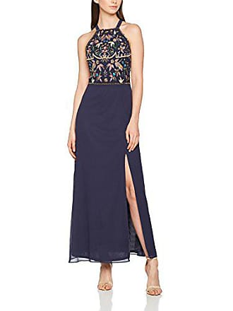 965c0c15e256 Frock and Frill Arie Embroidered Maxi Dress Vestito Donna