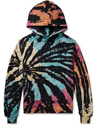 Amiri Oversized Tie-dyed Loopback Cotton-jersey Hoodie - Multi