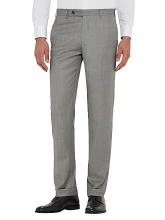 Zanella Mens Parker Classic Flat-Front Trousers