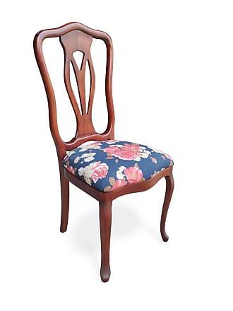 Atelier Clássico Cadeira Veneza em Madeira Maciça com Pinturas e Tecidos Personalizáveis