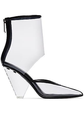 Balmain transparent 95 ankle boots - 0Aa Transparent