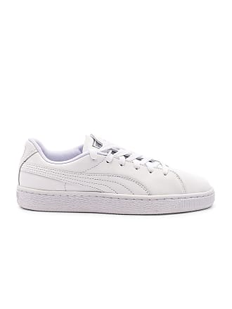 Puma Crush Emboss Sneaker in White