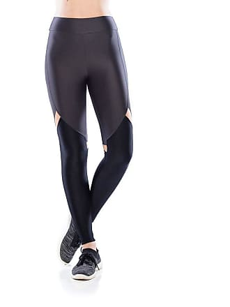 Mulher Elástica Legging Fitness Revolution - Grafite - P