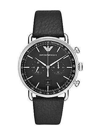 Emporio Armani Relógio Empório Armani Masculino Aviator Prata Ar11143/0pn