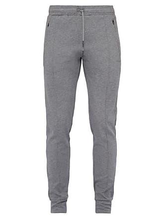 Falke Prep Cotton Blend Track Pants - Mens - Grey