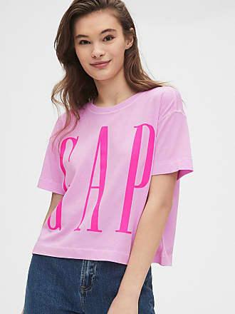 GAP Blusa GAP Logo Rosa
