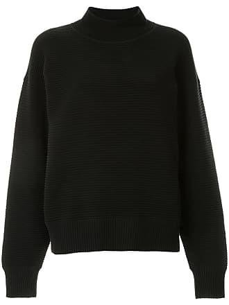 Nagnata Suéter gola alta de tricô canelado - Preto