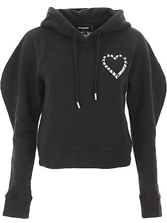 Dsquared2 Sweatshirt für Damen, Kapuzenpulli, Hoodie, Sweats Günstig im  Outlet Sale, Schwarz a72cab067d