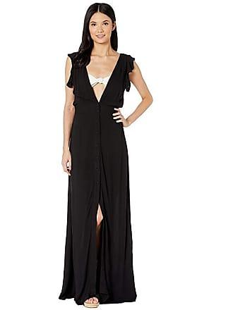 b87c71d7a7 Maaji Turtle-Iffic Long Dress Cover-Up (Black) Womens Swimwear