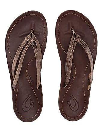 Olukai Ui (Bronze/Dark Java) Womens Sandals