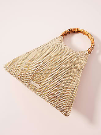 Loeffler Randall Mattie Bamboo Ring Clutch