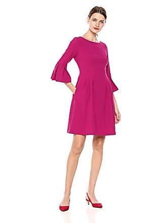 7a988f4d2f Eliza J Womens Ruffle Sleeve Fit and Flare Dress