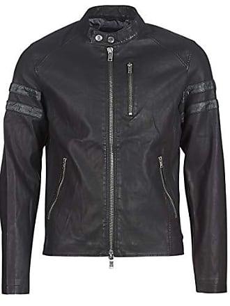 06058d691f73 Guess Cool Biker Jacket, Veste de Sport Homme, Noir (Jet Black A996 Jblk